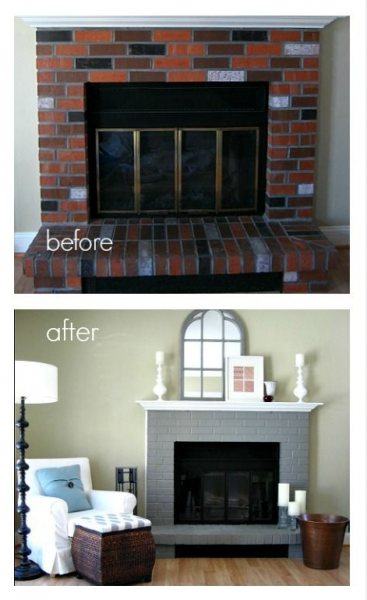 Revamp your fireplace