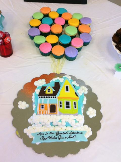 up themed cake