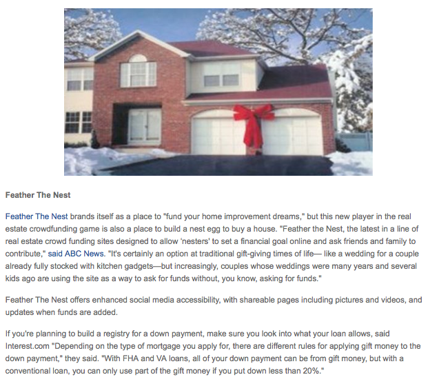 The Gift Of Home: Crowdfunding The Best Present Of All