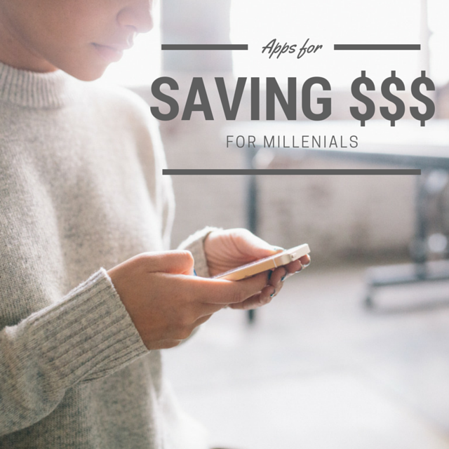 apps for saving money millenials
