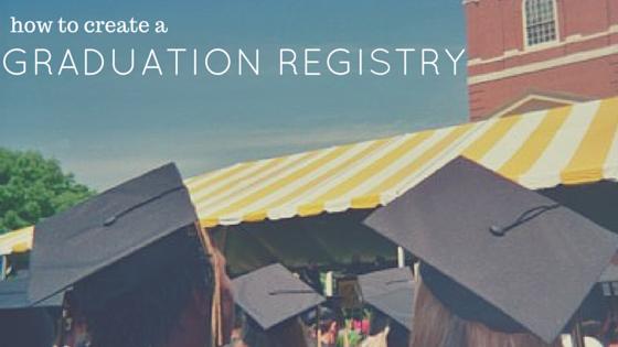 how to create a graduation registry