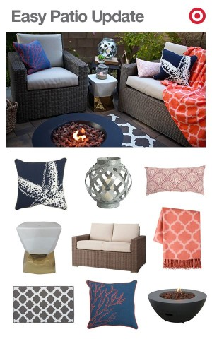 cozy up your patio